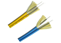 Duplex armored cable