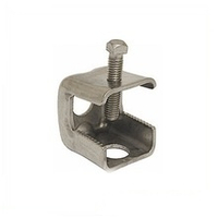"304 stainless steel angle Adapter for snap-in hangers, 3/4"" Thru Hole"
