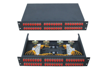 Dummy drawer 48 port Fiber Terminal Box for FC SC ST Adapter / CATV networks