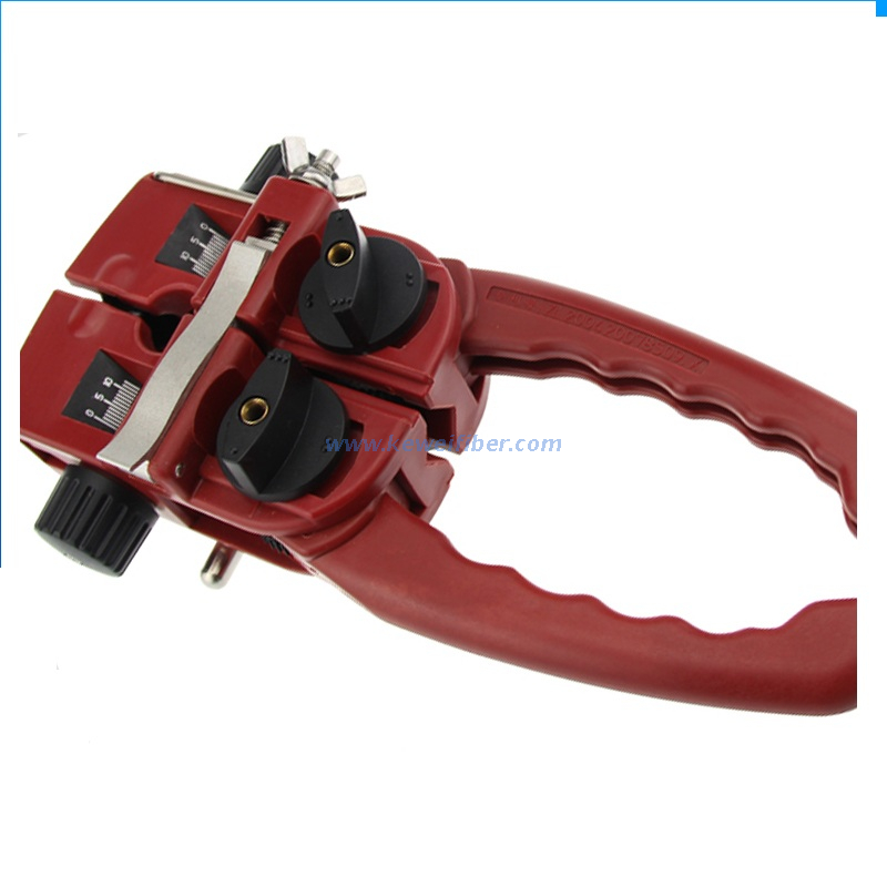 Across and Longitudinal Fiber Cable Stripper HW-213