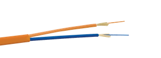 Flat twin duplex cable