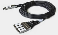 40G QSFP+ to 4x 10G SFP+ Fan-Out Direct Attach Cable(DAC)