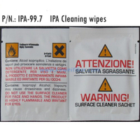 Pre-Moistened Acohol Wipes IPA-99.7