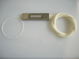 1*32 PLC splitter 0.9mm steel tube type