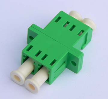 LC/APC Duplex Fiber Optical Adapter
